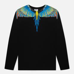 Мужской лонгслив Marcelo Burlon Birds Wings Regular Black/Blue