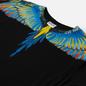Мужской лонгслив Marcelo Burlon Birds Wings Regular Black/Blue фото - 1