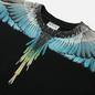 Мужская толстовка Marcelo Burlon Wings Regular Crewneck Black/Light Blue фото - 1