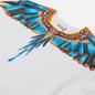 Мужская толстовка Marcelo Burlon Grizzly Wings Regular Crewneck White/Light Blue фото - 1