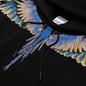 Мужская толстовка Marcelo Burlon Wings Regular Hoodie Black/Pink фото - 1