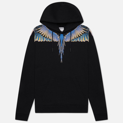 Мужская толстовка Marcelo Burlon Wings Regular Hoodie Black/Pink