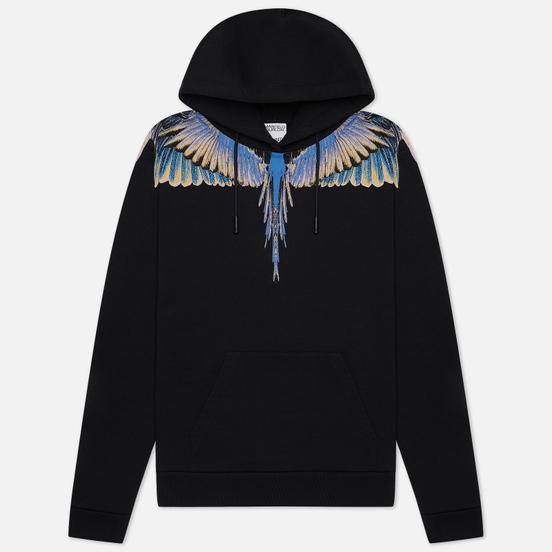 Мужская толстовка Marcelo Burlon Wings Regular Hoodie Black/Pink