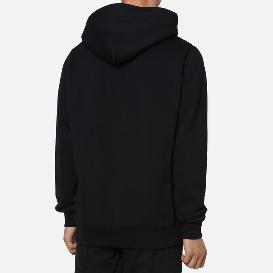 Мужская толстовка Marcelo Burlon Rural Cross Regular Hoodie Black/White