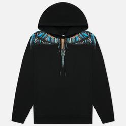 Мужская толстовка Marcelo Burlon Grizzly Wings Regular Hoodie Black/Light Blue