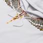 Мужская толстовка Marcelo Burlon Grizzly Wings Regular Hoodie White/Yellow фото - 1