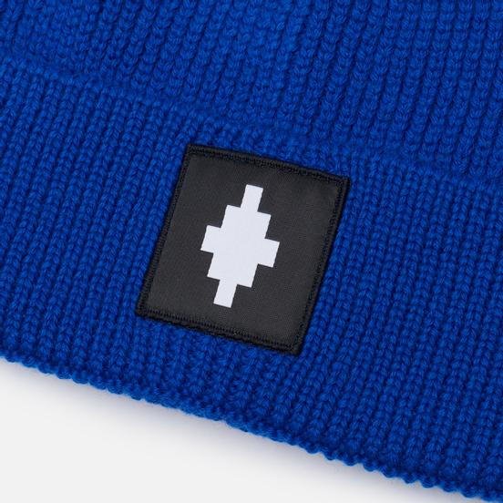 Шапка Marcelo Burlon Cross Patch Blue/White