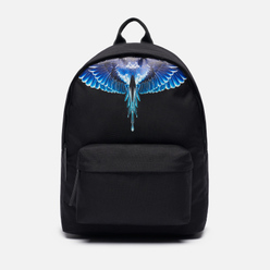 Рюкзак Marcelo Burlon Wings Black/Turquoise