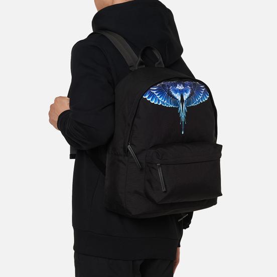 Рюкзак Marcelo Burlon Wings Black/Turquoise