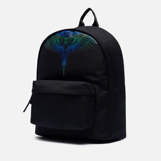 Рюкзак Marcelo Burlon Wings Black/Blue Neon