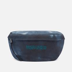 Сумка на пояс Marcelo Burlon Logo Tie & Dye Basic Fannypack White/Dark Blue