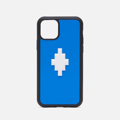 Чехол Marcelo Burlon 3D Cross iPhone 11 Pro Blue/White