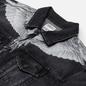 Мужская джинсовая куртка Marcelo Burlon Wings Stonewash Slim Denim Black/White фото - 1