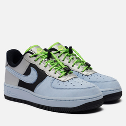Женские кроссовки Nike Air Force 1 Low Toggle Celestine Blue/Metallic Silver/Black