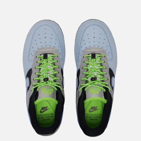 Женские кроссовки Nike Air Force 1 Low Toggle Celestine Blue/Metallic Silver/Black