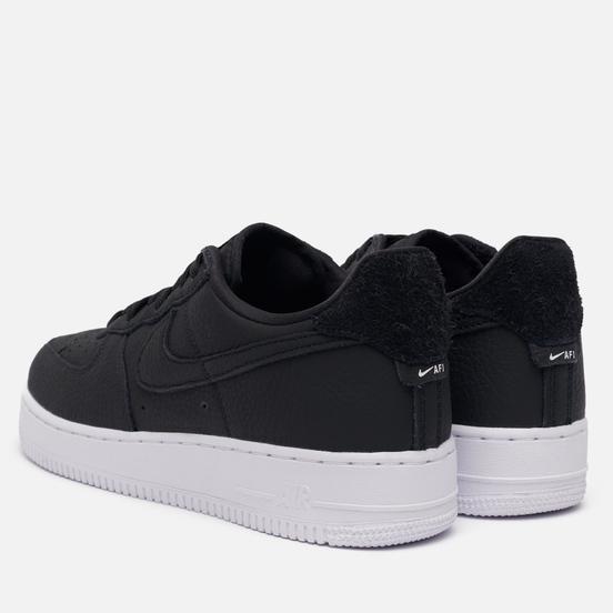 Мужские кроссовки Nike Air Force 1 '07 Craft Black/Black/White/Vast Grey