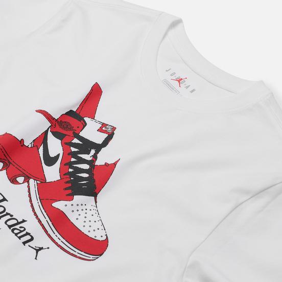 Мужская футболка Jordan Air Jordan 1 Graphic White