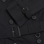 Мужской тренчкот Aquascutum Corby Double Breasted Black фото- 2