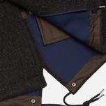 Пальто C.P. Company Shetland Bonded Fishtail Parka Brown фото- 6