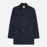 Мужской плащ Carhartt WIP Martin Twill Duke Blue/Black Rigid фото- 0