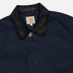 Мужской плащ Carhartt WIP Martin Twill Duke Blue/Black Rigid фото- 1