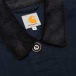 Мужской плащ Carhartt WIP Martin Twill Duke Blue/Black Rigid фото- 2