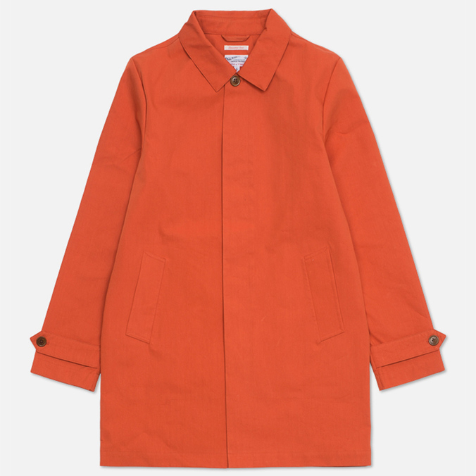 Gant Rugger Laminated Men`s Coat Paprika