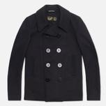 Мужское пальто Gloverall Big Button Reefer Navy фото- 0