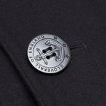 Мужское пальто Gloverall Big Button Reefer Navy фото- 4