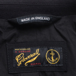 Gloverall Big Button Reefer Coat Navy photo- 6
