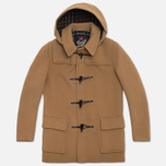 Пальто Gloverall Detachable Hood Duffle Tan фото- 0