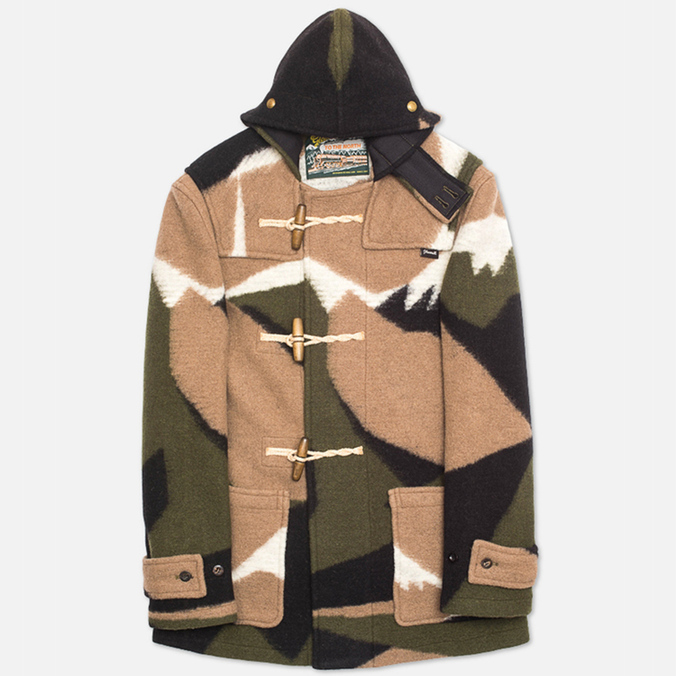 Пальто Gloverall Mid Monty Kale Camo