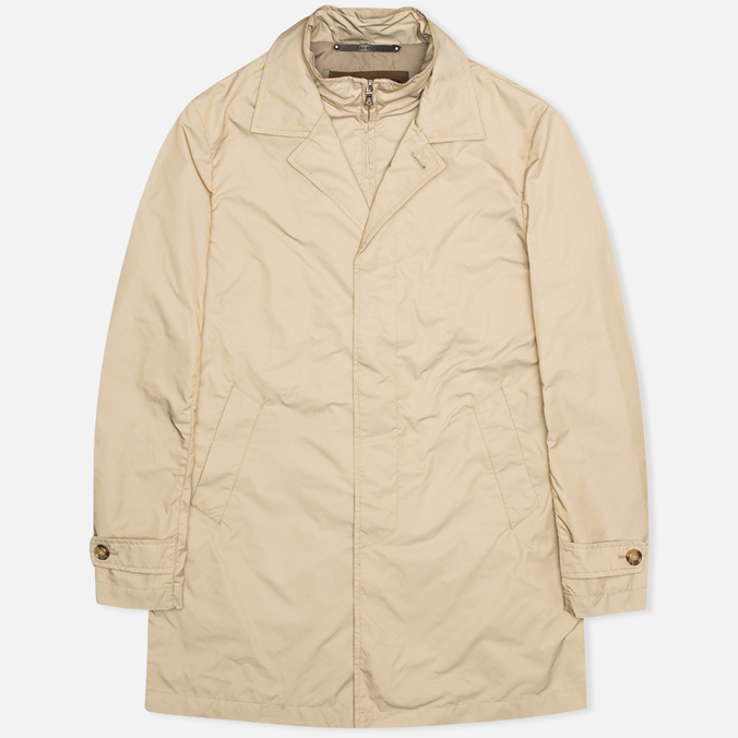 Мужской плащ Hackett City Mac British Khaki