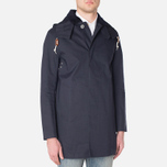 Mackintosh Dunoon Hood Winter Coat Navy photo- 0
