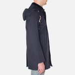 Mackintosh Dunoon Hood Winter Coat Navy photo- 1