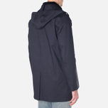 Mackintosh Dunoon Hood Winter Coat Navy photo- 2