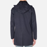 Mackintosh Dunoon Hood Winter Coat Navy photo- 3