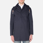 Mackintosh Dunoon Hood Winter Coat Navy photo- 4