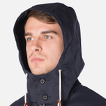 Mackintosh Dunoon Hood Winter Coat Navy photo- 6