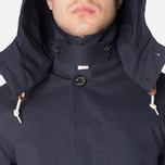 Mackintosh Dunoon Hood Winter Coat Navy photo- 7