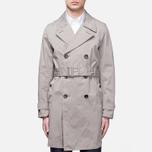 Пальто Ten C Short Trench Tan фото- 0
