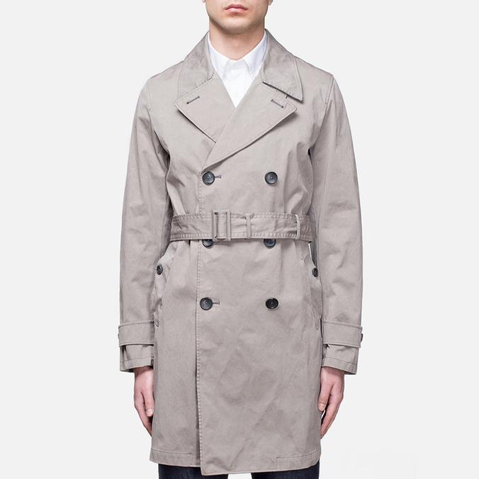 Пальто Ten C Short Trench Tan
