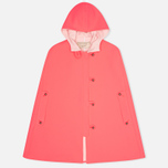 Женский плащ Maison Kitsune Double Face Hester Pink фото- 0
