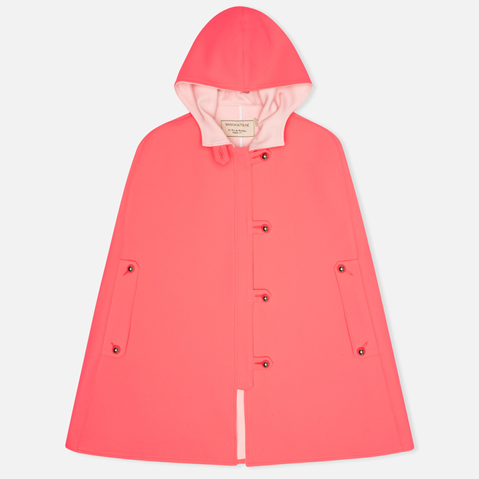 Женский плащ Maison Kitsune Double Face Hester Pink