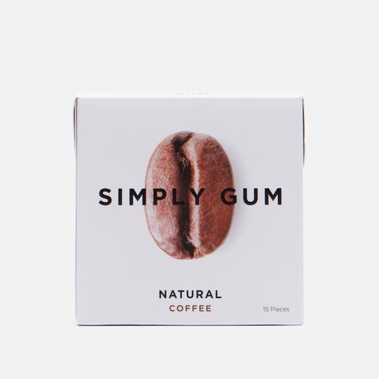 Жевательная резинка Simply Gum Natural Coffee