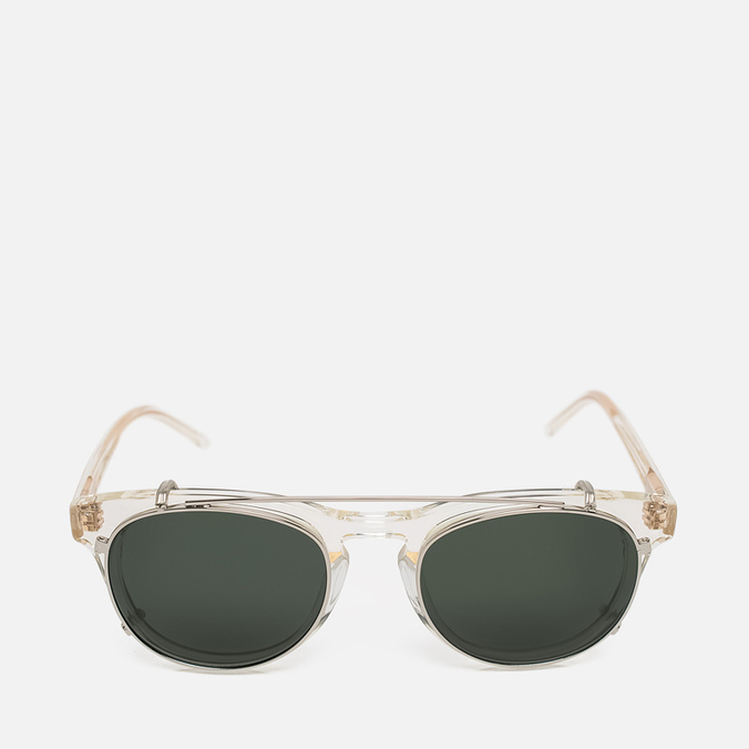 Han Kjobenhavn Timeless Clip-On Sunglasses Champagne
