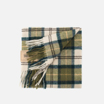 Barbour Tartan Lambswool Scarf Ancient photo- 3