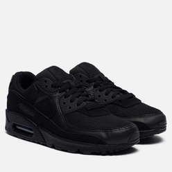 Женские кроссовки Nike Air Max 90 Recraft Black/Black/Black/White