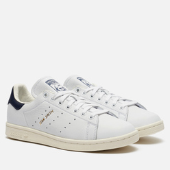 Мужские кроссовки adidas Originals Stan Smith White/White/Noble Ink