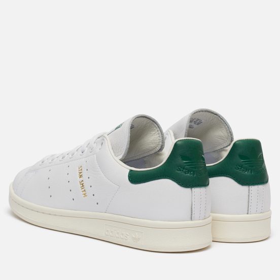 Кроссовки adidas Originals Stan Smith White/White/Collegiate Green